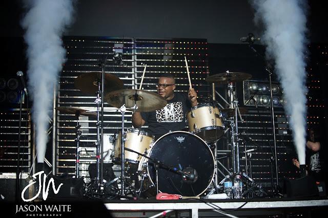 Shonlock drummer at UTA College Park Center