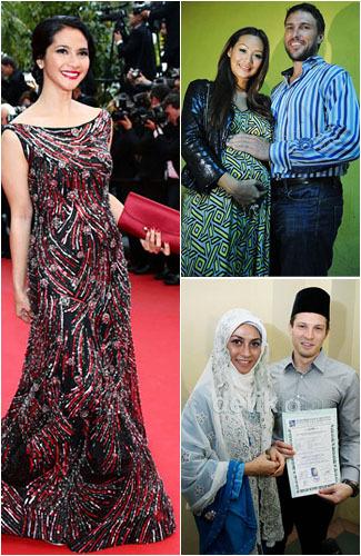 10 Artis Indonesia yang Menjalin Cinta dengan Bulek