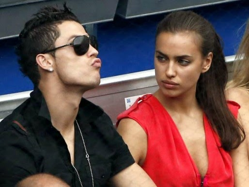 COOGLED: FOOTBALLER CRISTIANO RONALDO WITH HIS GIRLFRIEND ...