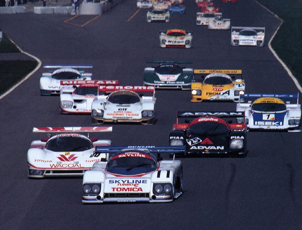 1985 Suzuka 1000km , japoński samochód, sportowy, wyścigi, racing, tor wyścigowy, racetrack, motoryzacja, auto, JDM, tuning, zdjęcia, pasja, adrenalina, kultowe, 自動車競技, スポーツカー, チューニングカー, 日本車