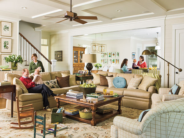 lots of rooms mainly use their living rooms to receive visitors and to