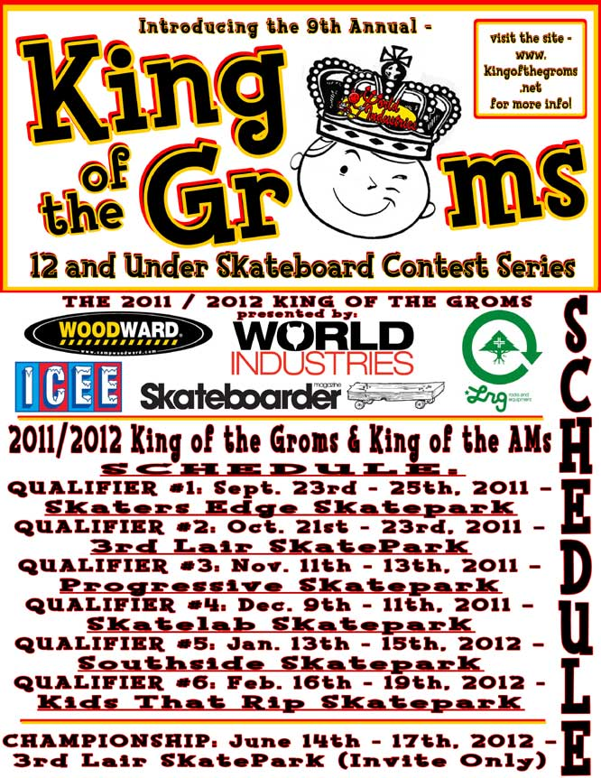 King of the Groms 2011 and 2012