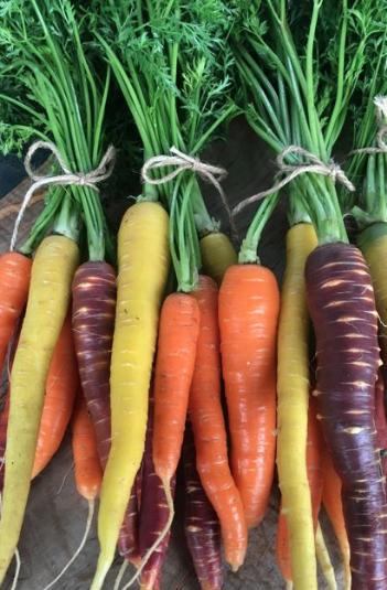 I eat carrots daily!