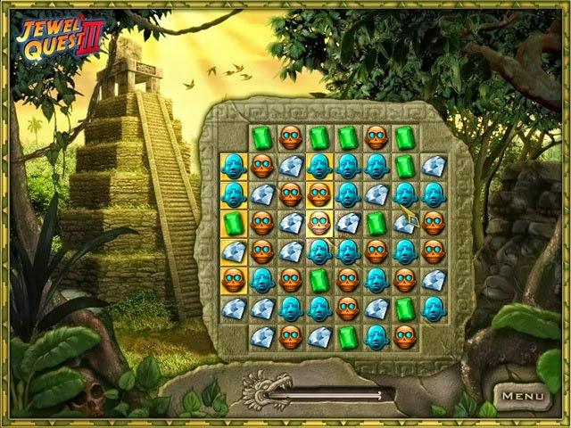 لعبة المجوهرات المتشابهة جويل كويست Jewel Quest 3