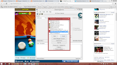 Cheat Garis 8 Ball Pool