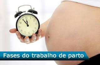 Fases do trabalho de parto