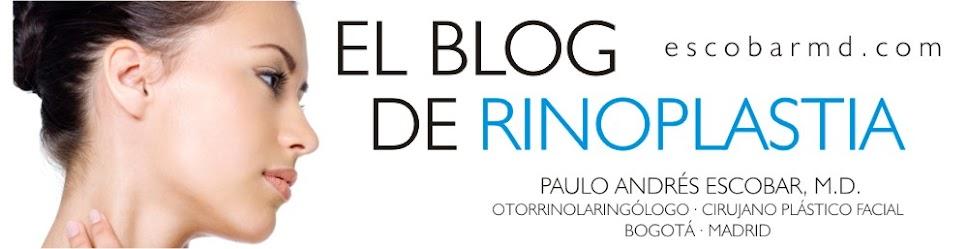 DR. ESCOBAR ESPECIALISTA EN  RINOPLASTIA  o CIRUGIA  DE NARIZ EN BOGOTÁ Y  MADRID.