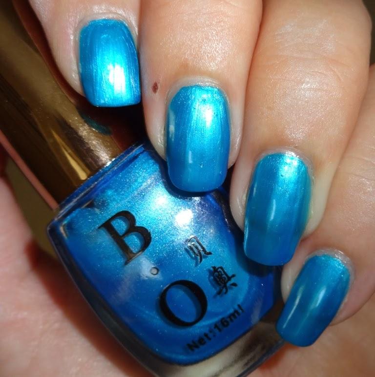 Blue Nail Varnish Uk: Wendy's Delights: Born Pretty Store Sky Blue Nail Polish