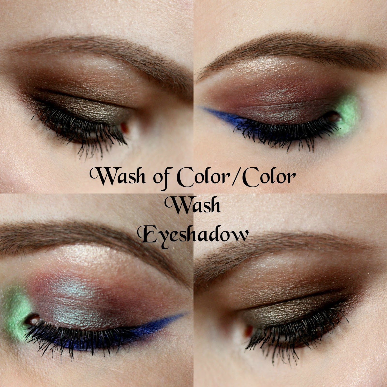A Wash Of Color Is Usually Just A Single Eyeshadow Shade Blended Out All  Over The Lid, Or Maybe Two It's Blended Out Evenly Across The Lid And The  Edges