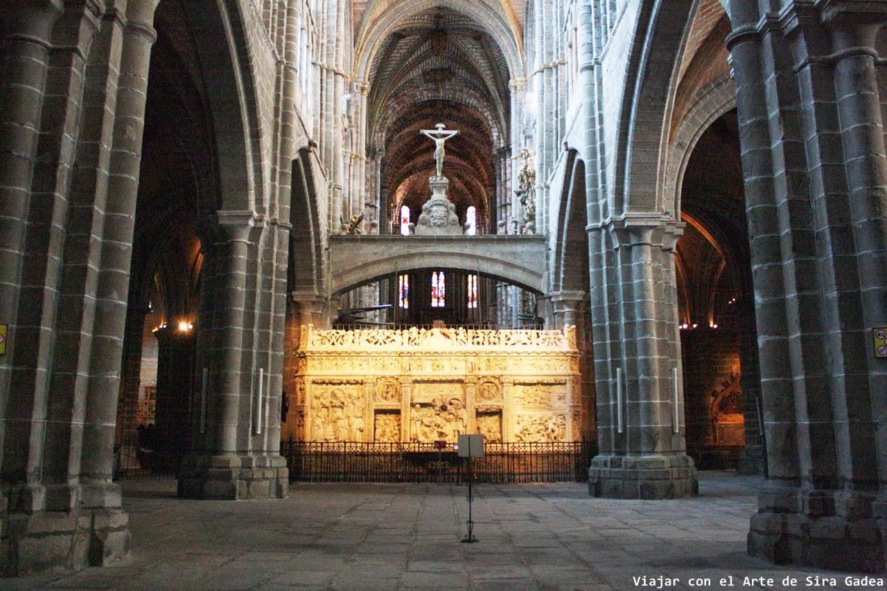 Trascoro Catedral Ávila