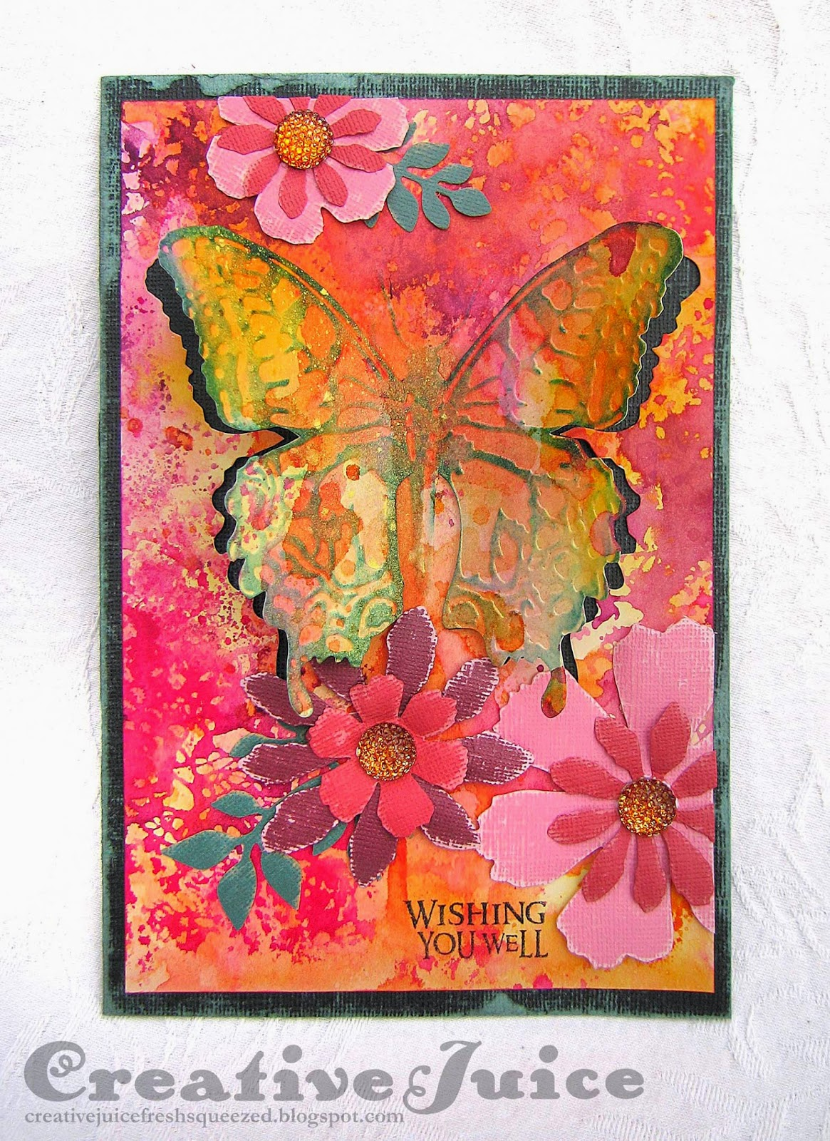 Lisa Hoel - Compendium of Curiosities Challenge #22 - Layered Butterfly