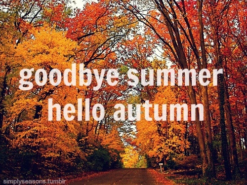 Captivating Goodbye Summer And Hello Autumn   Wallpapers