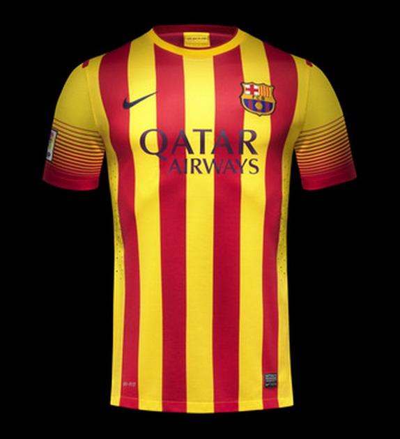 Barcelona release new away kit for 2013/14 season