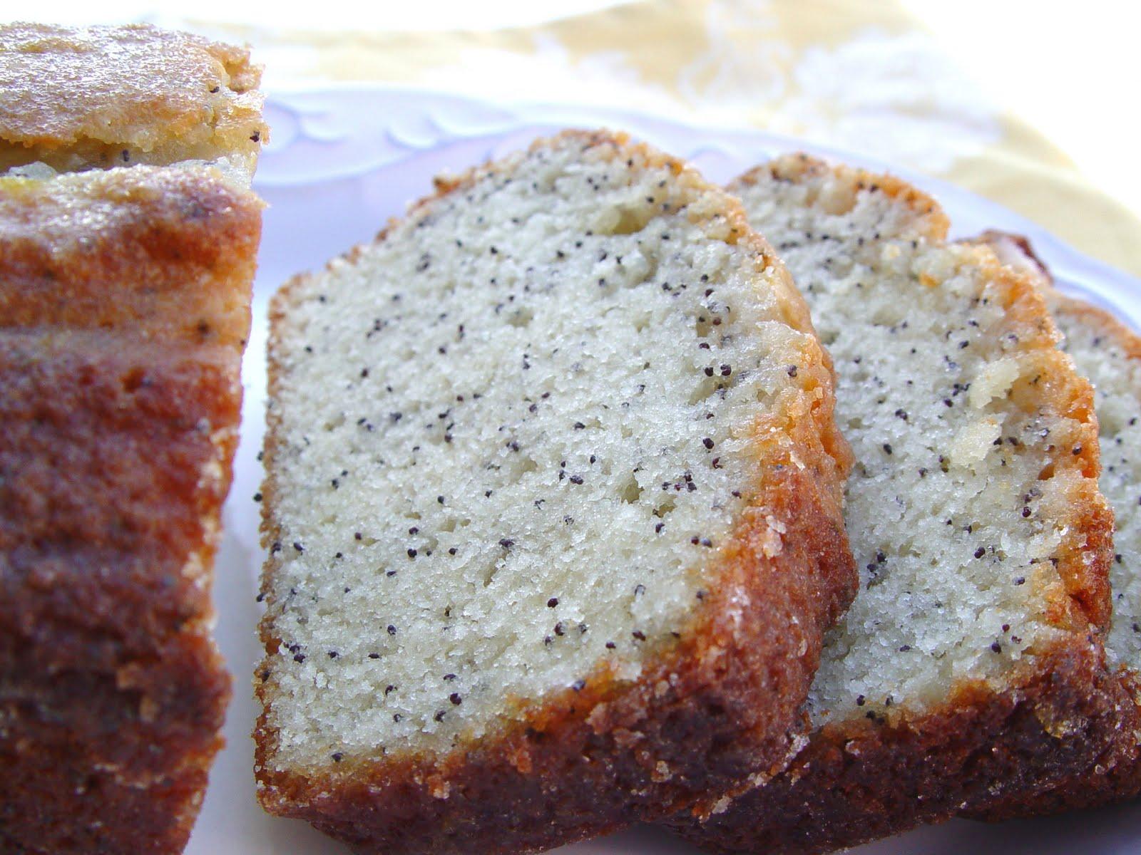 Laura\'s Glazed Poppyseed Bread