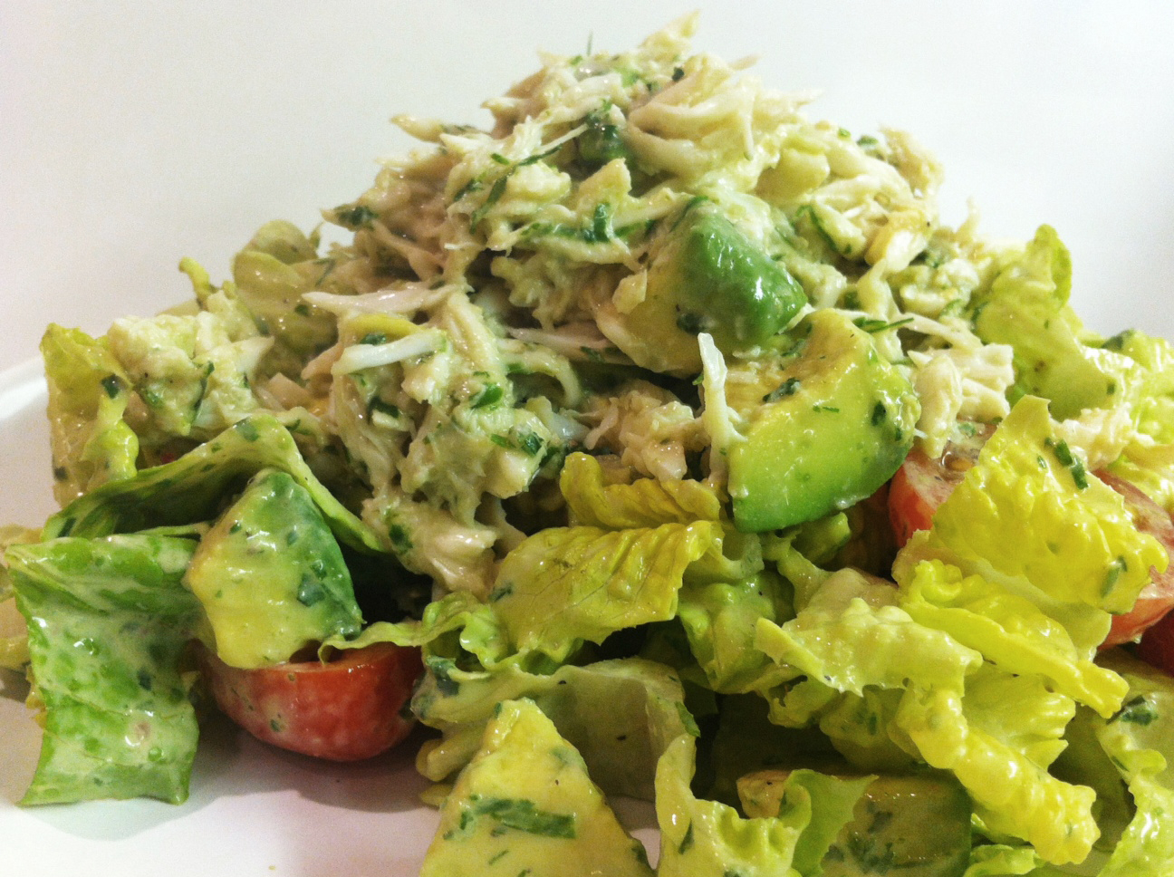 Crab and Avocado Salad | savory