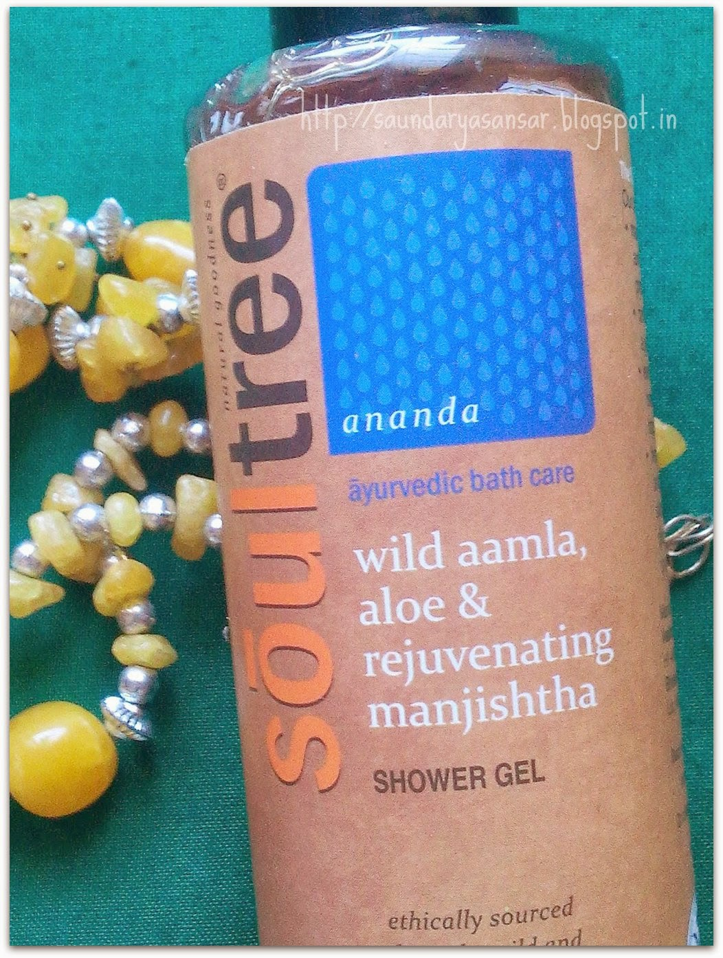 Soultree Wild Amla, Aloe & Rejuvenating manjishtha Shower Gel- Review