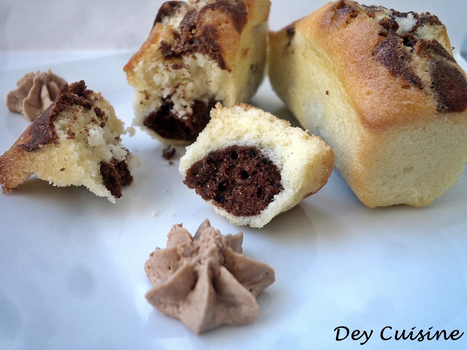 Recette Mini Cake Marbr Ef Bf Bd Chocolat