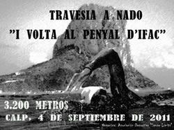 Travesia+a+nado+Volta+al+Penyal+d%25C2%25B4Ifac Travesia a Nado Volta al Penyal d´Ifac el 04.Septiembre en Calpe