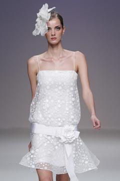 robe mariage dentelle création années folles