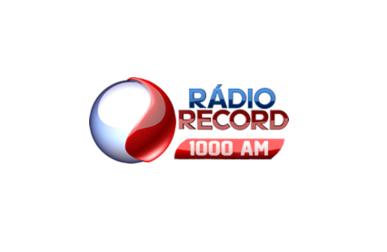 Super Radio Record AM 1000 KHZ Sao Paulo Rede Record Sat
