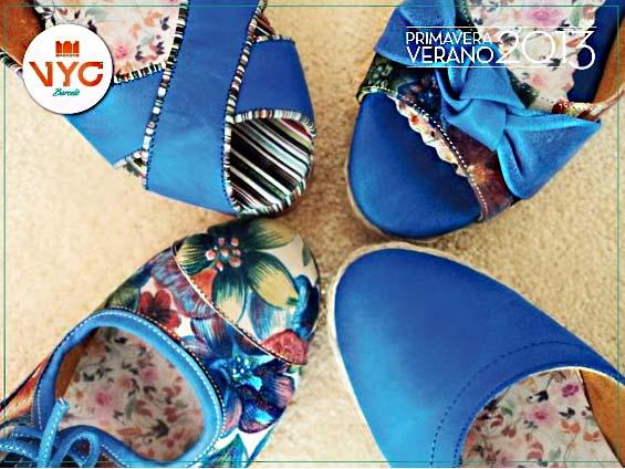 VYC Barceló zapatos y sandalias 2013.