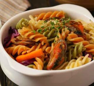 Vegetables Rotini Pasta