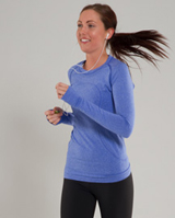 lululemon blue swiftly ss tech shirt