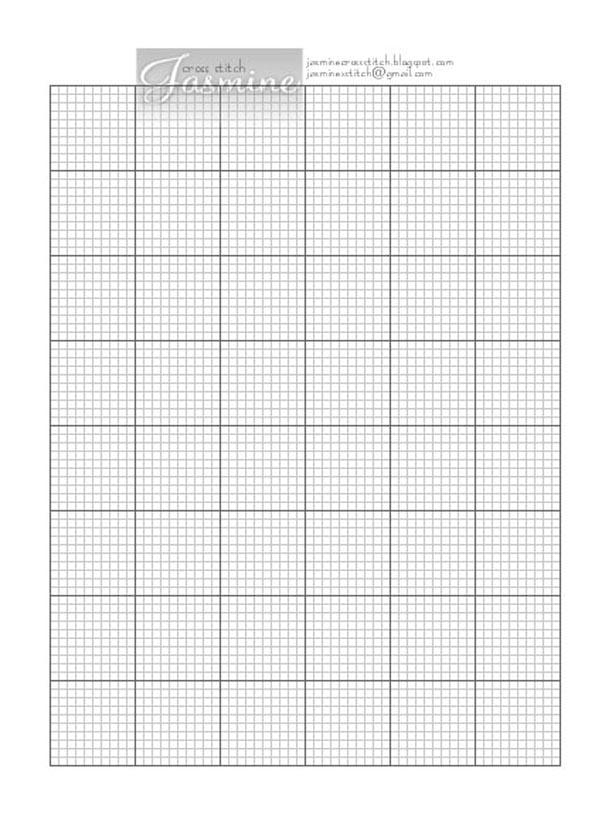 Simple Pattern Maker Jasmine Cross Stitch