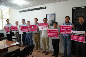 Funcionarios de DGTE suman a la campaña #NosotrosconEllas
