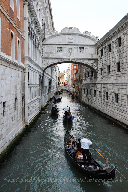 威尼斯, Venice, 嘆息橋, bridge of signs