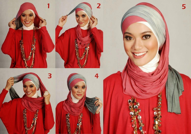 Kumpulan Tutorial Jilbab Ala Moshaict Tutorial Hijab Pashmina Modern