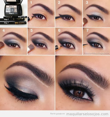 Maquillaje noche y dia - Tips como maquillarse paso a paso