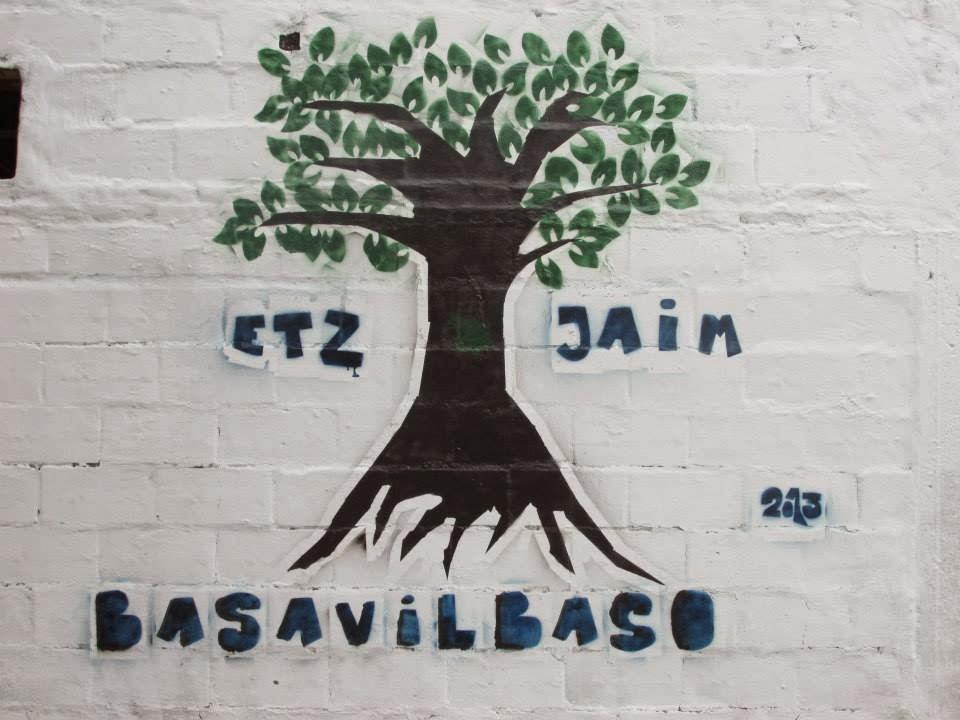 Nuestro mural en la kehilá