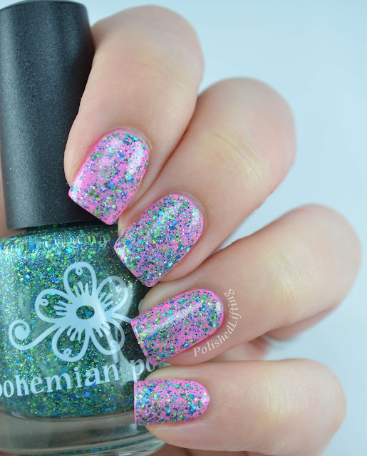 Bohemian Polish Let Me See Your Peacock Love You