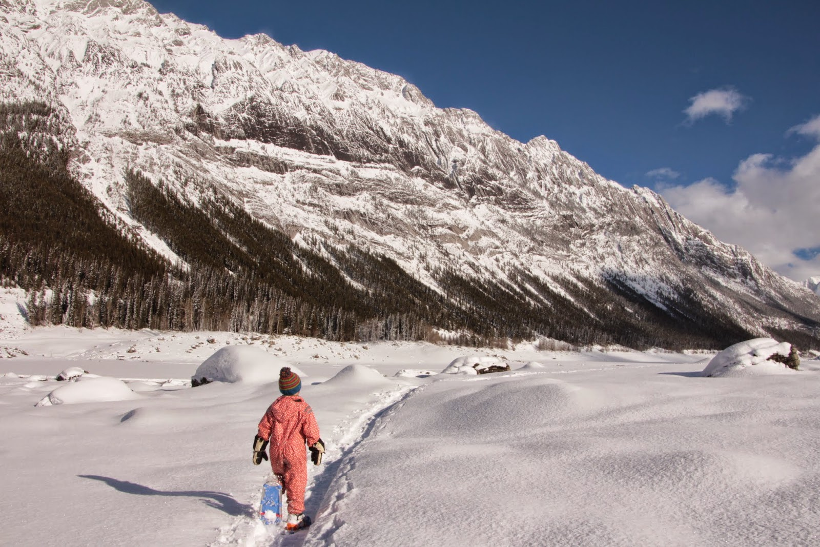 Family Adventures in the Canadian Rockies: Winter Road ...