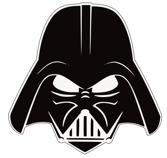 Darth Vader Stencil I got the darth vader stencil