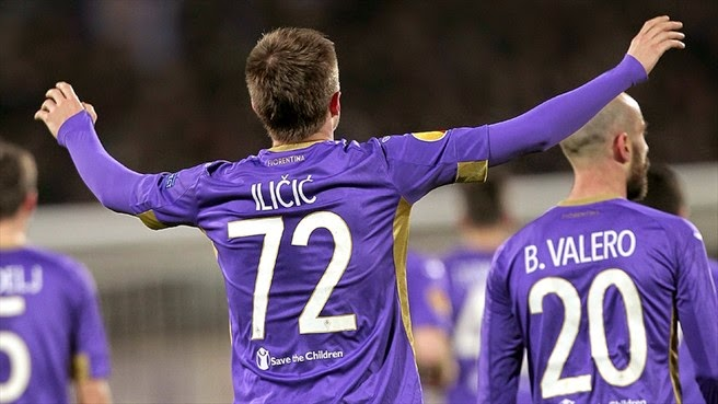 VIDEO Fiorentina-Roma 1-1 gol highlights Europa League