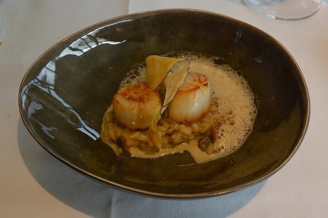 Restaurant Arenberg Heverlee scalops