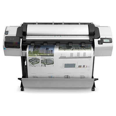 Cad a blog review hp designjet t2300 emfp the hp designjet t2300 emfp is a large format inkjet color printer scanner and copier with web connectivity that allows users to print to it remotely on fandeluxe Gallery