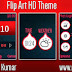 Flip Art Live HD Theme For Nokia C1-01, C1-02, C2-00, 107, 108, 109, 110, 111, 112, 113, 114, 2690 & 128×160 Devices