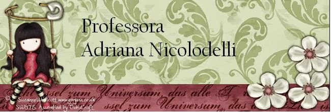 Professora Adriana Nicolodelli