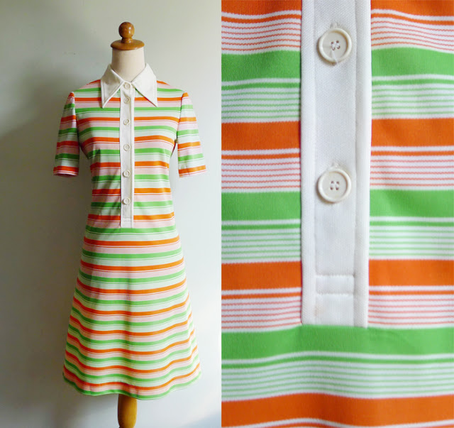 60s collared shift dress