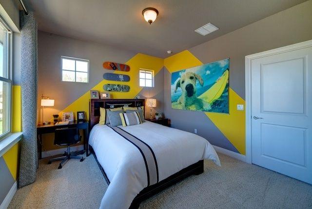 10 lindas habitaciones para adolescentes modernos ideas - Decoracion juvenil paredes ...