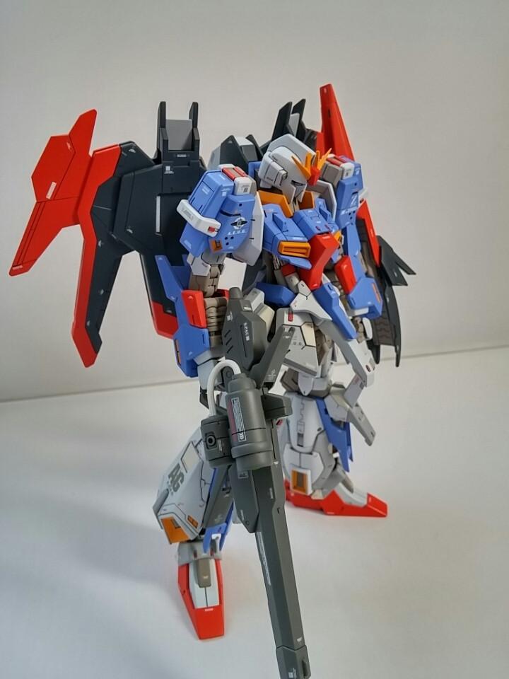 Lightning Zeta Gundam Real Grade Modified