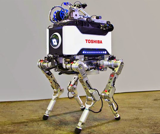 Toshiba's (unsuccessful) stab at a robot that can brave the heart of Fukushima Daiichi