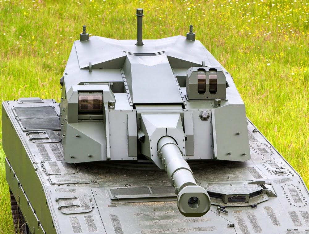 CMI Defence Cockerill 105mm CV90