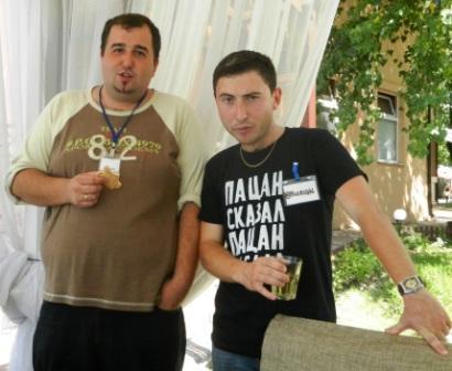 кадыров Русфет и Алексей Пирогов на Blogcamp 2011
