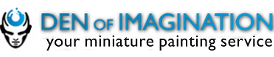DEN OF IMAGINATION Miniature Painting Service