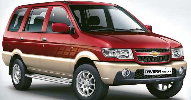 Chevrolet Tavera Neo 3 Institution Of Automobile Engineers India