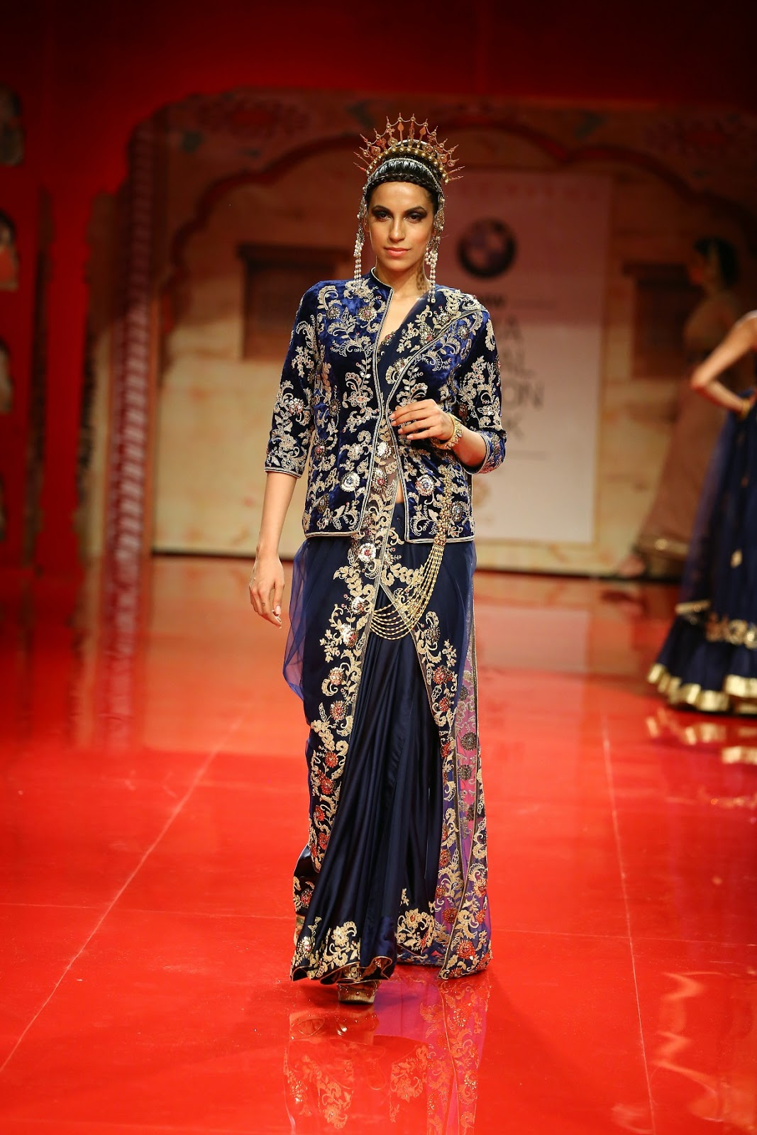 India Bridal Fashion Week 2014 Rajasthan By Suneet Varma Stylish By Nature By Shalini Chopra